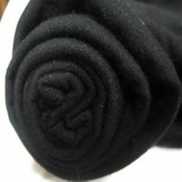 Black 100% cotton rayon elastic holder cuff cloth t-shirt top skirt elastic fabric 7 meters