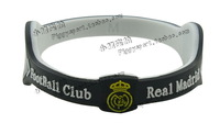 The Spanish Football League Real Madrid fans souvenir gift Silicone Wristband Bracelet hand circle motion