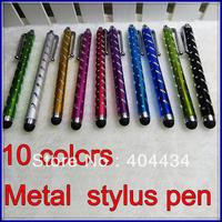 metal stylus touch pen B50 for capacitive screen diamond phone stylus pen tablet stylus pen high sensitive 10colors 1500pcs/lot