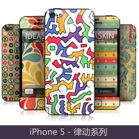 Ideaskin  for iphone   5 stnke series phone case protective case modern film