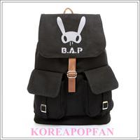 B.A.P BAP BABY Kim Him Chan CANVAS SCHOOL BAG BACKPACK NEW
