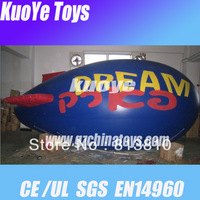 dirigible balloon/helium blimp for sale/inflatable dirigible/advertising inflatable balloon,CE,free shipping