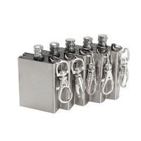5Pcs Metal Match Lighter Gas Oil Fire Starter Keychain for Camping Outdoor #gib