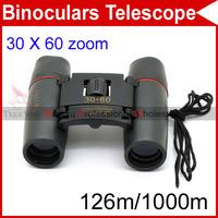 30 x 60 Zoom Outdoor Folding Day Night Vision 126m/1000m Binoculars Telescope Refractor #1169
