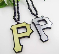 Hip Hop Jewelry style P Pendant Acrylic Necklace PROM Accessories Best Gifts YKL075