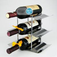 Stainless steel wine rack wine rack wine rack theroom 9 bottle