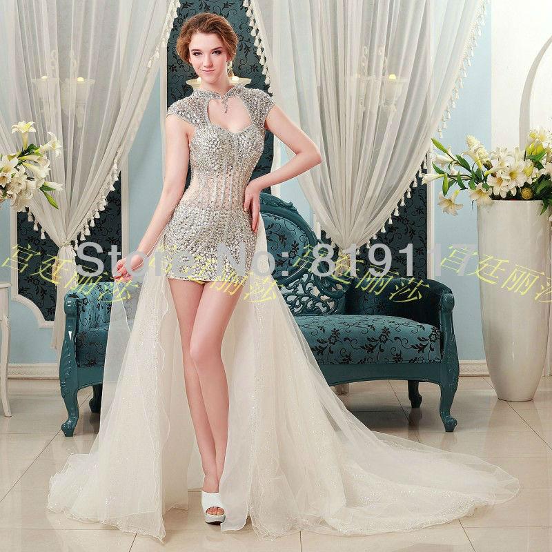 Sheath Wedding Gown Pattern : Pattern pleat organza appliques beaded lace keyhole back wedding dress