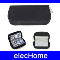 CF SD XD MS Memory card Storage Carrying Pouch Box Case Holder Wallet Bag Black Free Shipping
