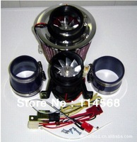 Turbo-5000 Electric Supercharger 330W Electric turbocharger kit Metal wheel (two Motor ) have in stock