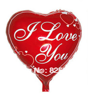 Hot sale!!!!!Free shipping 100pcs/lot Love balloon Heart balloon foil balloon