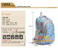Hot sale Flower child school bag in primary school students school bag male girls backpack ultra-light waterproof