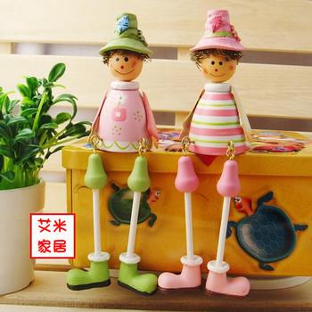 Fashion modern doll unique crafts home decoration accessories