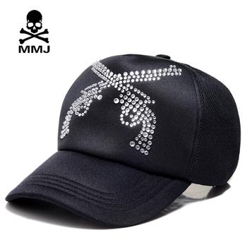 Mmj skull general baseball cap street sparkling diamond double 2013 lovers