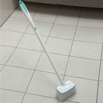 Long-handled brush bathroom cleaning brush soft-bristle brush floor tiles cleaning brush floor dust brush cleaning brush