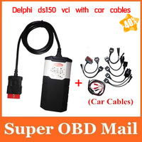 Professional DELPHI DS150E Auto CDP+ with car cables for Cars & Trucks 2014 Release