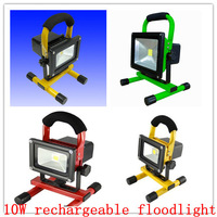 10w led flood light rechargeable Epistar Chip 90-100lm/w first quality Guarantee 2years CE ROHS promotion