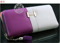 high quality handbags 2013 women's wallet genuine leather clutch holder bag card wallet fashion wholesale