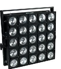 25 Lamps Dimmer Halogen High Power Matrix Strobe Stage Light 1900W