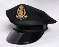 FREE SHIPPING Police Sheriff Hat Cap Party Costume Military Army Hat Cap