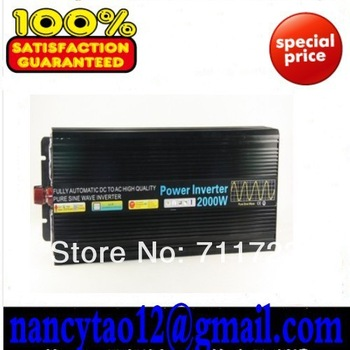 5 HOT SALE!! 1200W Off  Inverter Pure Sine Wave Inverter DC12V or 24V or 48V input, Wind Solar Power Inverter