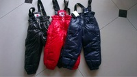 2013 children's cold winter down pants, baby clothing trousers down pants