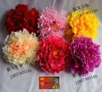 Costume performance hair accessory hair accessory big peony flowers flag hair accessory