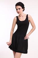 Basic skirt slip home dress sweat absorbing pad anti-static one-piece dress