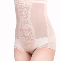 Fabric reobtains panties female high waist postpartum abdomen drawing butt-lifting panties drawing abdomen pants