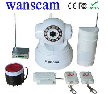 New Alarm Device!Nightvision IR Webcam WiFi CCTV Home Security Surveillance IP Network Camera access control Module
