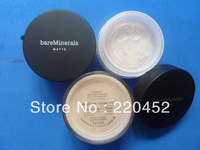 New bare Minerals MATTE 6 g Loose powder, you can choose 3 different colors(1 pcs/lot)