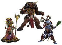 WOW world of warcraft figure 3 inches Undead Warlock Tauren Trolls Witch Doctor Small Model Free shipping