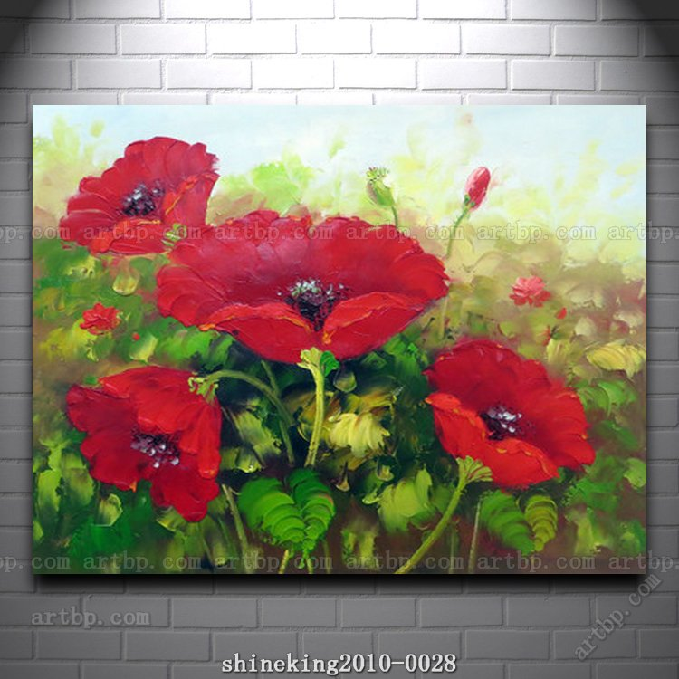 Famous Paintings of Flowers Beautiful Flower Oil Painting