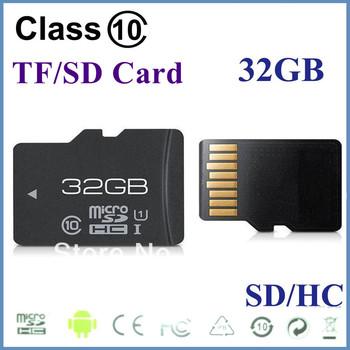 best pirce Memory card 32GB Class10 MicroSD SDHC Card class10 32G 32GB tf memory card free shipping