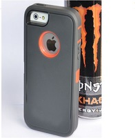 TOUGH ANTI SHOCK HEAVY DUTY HARD MUSCLE BOX CASE FOR APPLE IPHONE 5 5G 5S AB002
