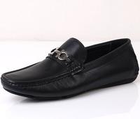 2014 new men's shoes men Slip leather casual men shoes British fashion breathable car