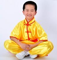 kung fu uniform Child martial arts clothes short-sleeve tai chi clothing leotard kung fu clothing adult / 212