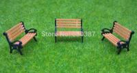 YZ87 Model Train HO TT 1:87 bench chair settee