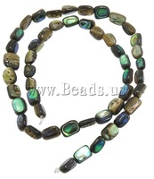 Free shipping!!!Abalone Shell Beads,Guaranteed 100%, Rectangle, 7.5-9X6-8X4-5mm, Hole:Approx 1mm, Length:16 Inch, 5Strands/Lot