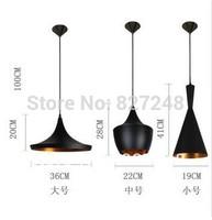 Wholesale power 110v 220v e27*1 lamp holder aluminum Tom Dixon beat design modern chandeliers lamps for home decoration lighting