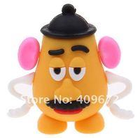 Free shipping 2GB 4GB 8GB 16GB 32GB 64GB retail genuine usb drive usb flash drive memory cartoon toy story Mr Potato Head