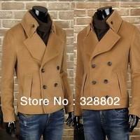 New 2014 Polo Men's fashion leisure trench coat winter coats jackets for men overcoat winter men