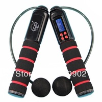 Professional wireless electronic Digital counting jumping Jump rope Skipping LCD