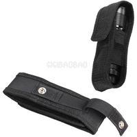 Nylon Holster Holder Case Belt Magic Tape Pouch for LED Flashlight Torch #gib
