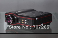 800*600 LED projector DVD projector with DVD player Integral support  USB SD TV AV DVD may choose battery for it