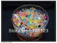 Water Crystal Ball Beads Flower mud Nutrition soil 5g/pack 120packs/lot single or mix color free shipping
