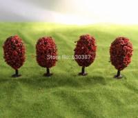 OH55 Orbicular Model Train Trees HO N scale 55mm