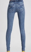 East Knitting FREE SHIPPING WR-004 Women Skinny Fake Jeans Leggings/Pants Wholesale price