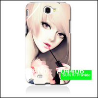 Free shipping Unique design customized cell phone case for samsung galaxy note 2 n7100