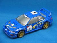 Car model cars SUBARU impreza wrc 2000 3d diy handmade