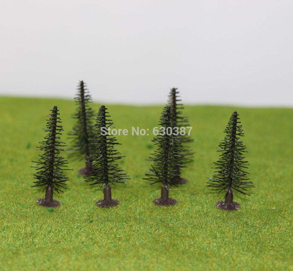 SZ40 Model Train Pine Trees N Z Gauge 40mm(China (Mainland))